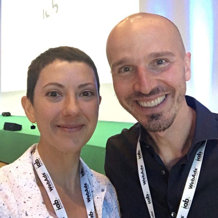 Marco Montemagno e Valentina Lanza